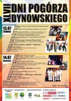 PROGRAM XLVII DNI POGÓRZA DYNOWSKIEGO 2013