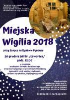 Miejska Wigilia 2018