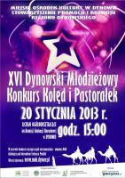 XVI Dynowski Młodzieżowy Konkurs Kolęd i Pastorałek
