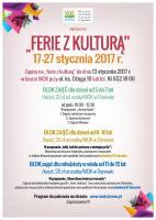 Ferie z Kulturą 2017